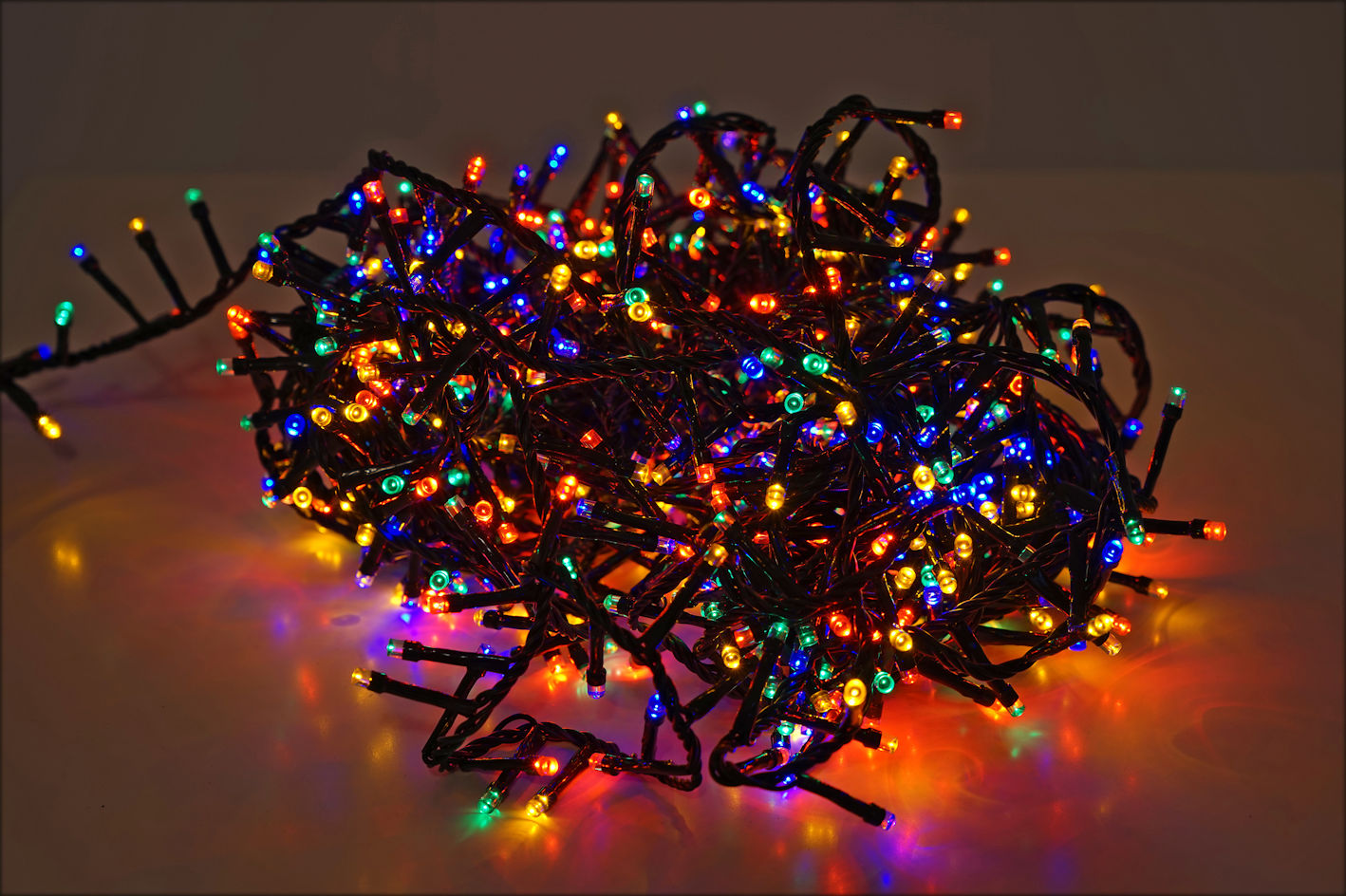 weihnachtsbaum lichterkette 560 1500 led extra warmwei bunt innen au en ebay. Black Bedroom Furniture Sets. Home Design Ideas
