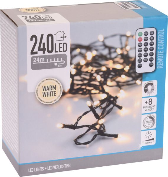 LED Lichterkette mit 240 LED`s