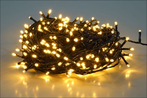 Lichterkette warmweiss 200 LEDs