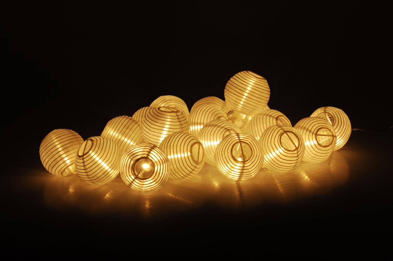 Party Lichterkette 20 LED Lampions