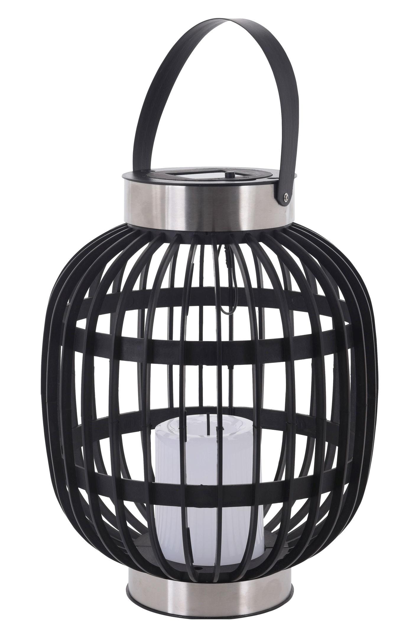 solar laterne zum h ngen 30cm garten rattan deko leuchte. Black Bedroom Furniture Sets. Home Design Ideas