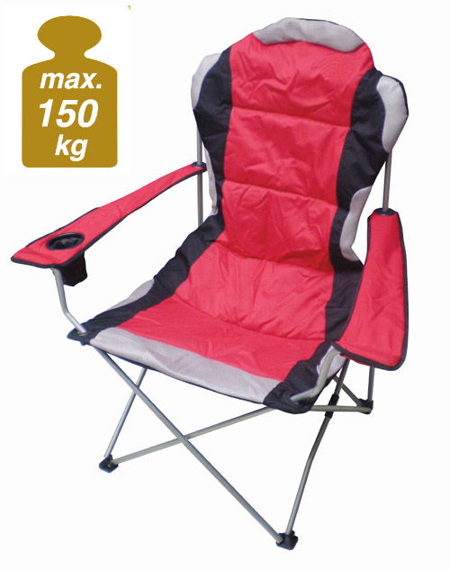campingstuhl deluxe 150 kg camping klappstuhl angel. Black Bedroom Furniture Sets. Home Design Ideas
