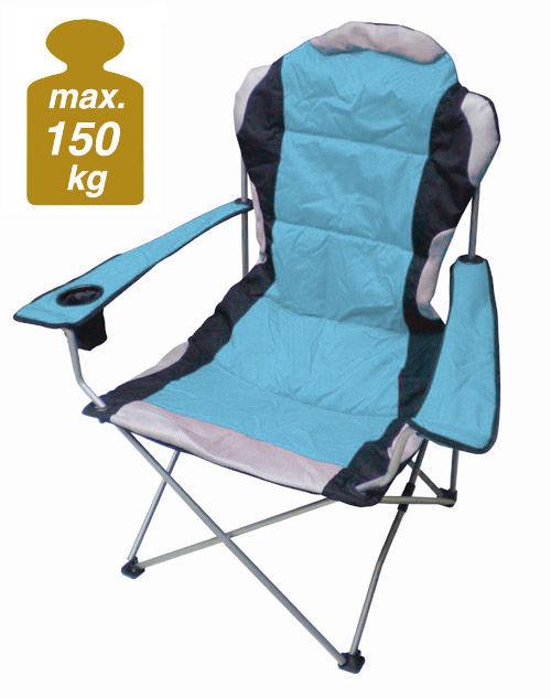 Klappstuhl camping  Campingstuhl DELUXE 150 Kg - Camping Klappstuhl Angel Stuhl ...