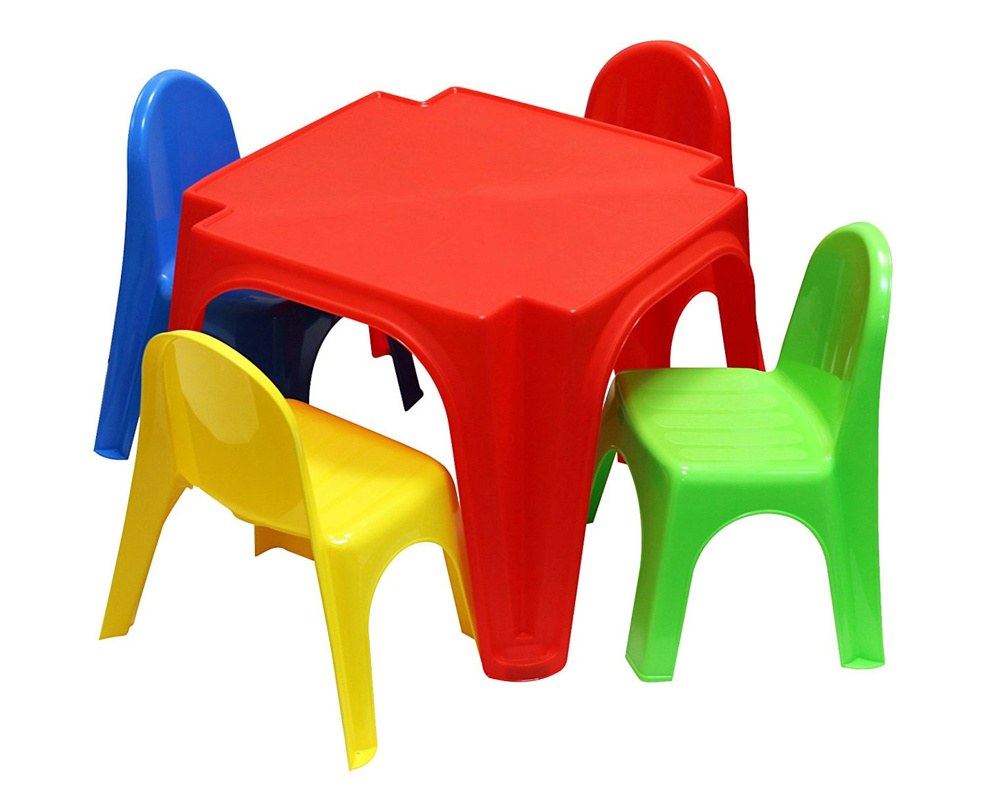 kinder sitzgruppe tisch 4 st hle gartenm bel kunststoff kinderm bel stuhl ebay. Black Bedroom Furniture Sets. Home Design Ideas