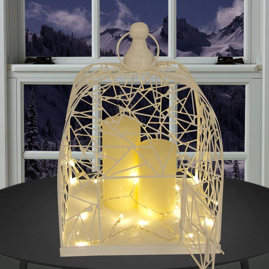deko vogelk fig wei 29x22 cm metall blumenk fig. Black Bedroom Furniture Sets. Home Design Ideas